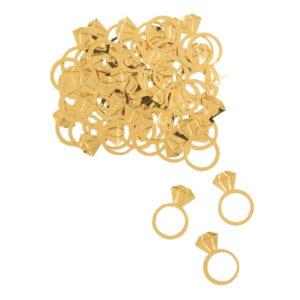 Konfetti Diamantringar Guld - 5 oz