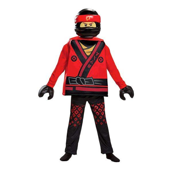 LEGO Kai Deluxe Barn Maskeraddräkt - Medium