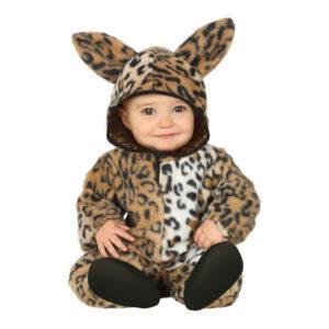 Leopard Bebis Maskeraddräkt - 6-12 månader