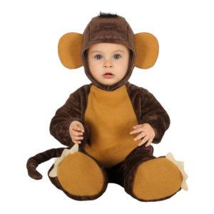Liten Apa Bebis Maskeraddräkt - 6-12 månader