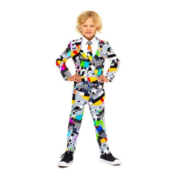 OppoSuits Boys Testival Kostym - 110-116
