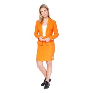 OppoSuits Foxy Orange Kostym - 38