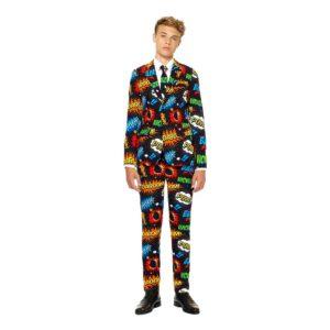 OppoSuits Teen Badaboom Kostym - 158-164