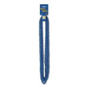Party Beads Blåa - 12-pack