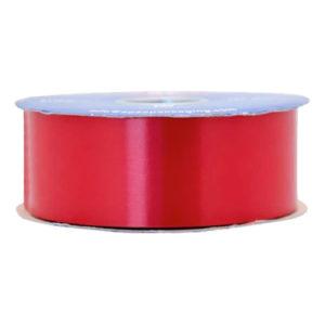 Satinband Röd