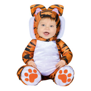 Tiger Bebis Maskeraddräkt - 12-24 månader