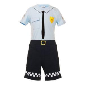 Vennebyen Apa Uniform Maskeraddräkt - 2-3 år