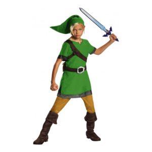 Zelda Link Barn Maskeraddräkt - Medium
