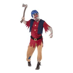 Zombie Dvärg Maskeraddräkt - Medium