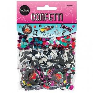 50-tals klassisk konfetti - 34g