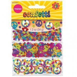 60-tals hippie konfetti - 34g