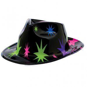 70-tals Discofeber - Stjärnmönstrad hatt