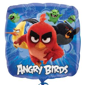 Angry Birds Crew Ballong Folie Fyrkantig