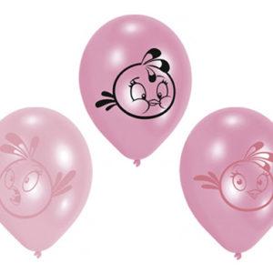 Angry Birds Pink Ballonger