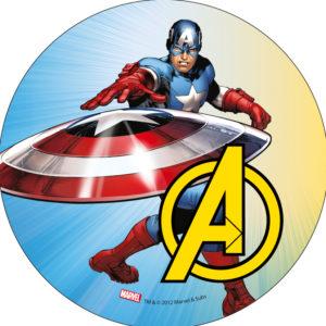 Avengers Captain America, tårtbild