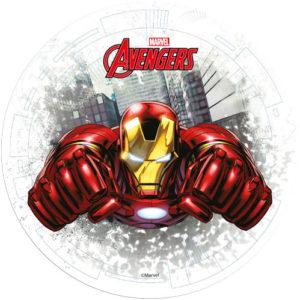 Avengers Iron Man, tårtbild
