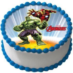 Avengers Tårtbild B