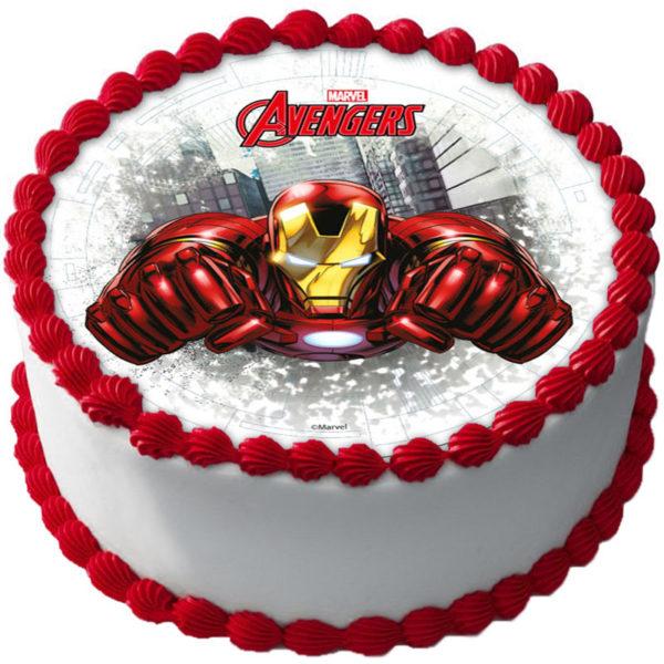 Avengers Tårtbild C