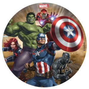 Avengers tårtbild