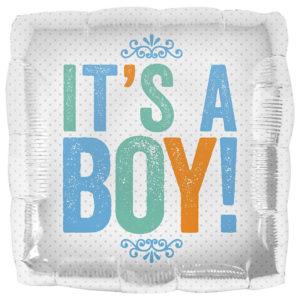 Baby Shower Ballong Folie It's A Boy