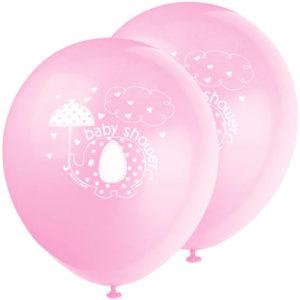 Baby Shower Ballonger Girl Umbrellaphant