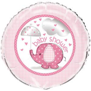 Baby Shower Girl Folieballong Umbrellaphant