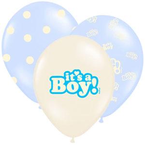 Baby Shower It's a Boy Ballonger Mix