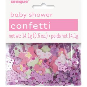 Baby Shower Konfetti Dekoration Girl