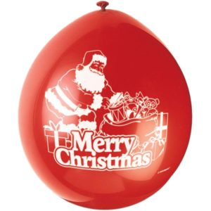 Ballonger Jultomten