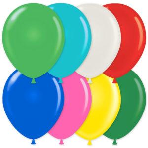 Ballonger Mix Blandade Färger (10-pack)
