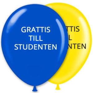 Ballonger Student Grattis (8-pack)