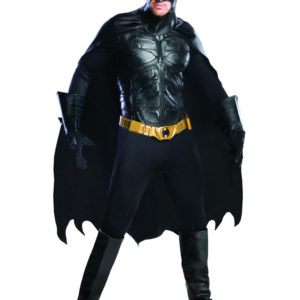 Batman Dräkt Deluxe (Medium)