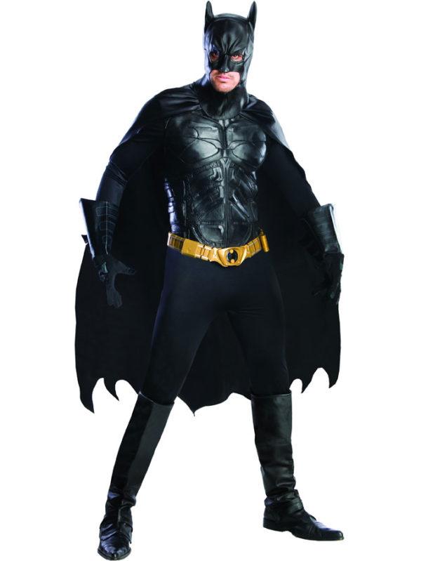 Batman Dräkt Deluxe (Medium)