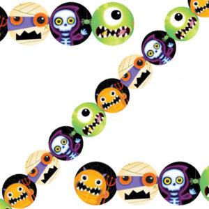 Boo Crew Halloween Pappersgirlang