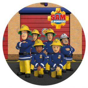 Brandman Sam, Tårtbild