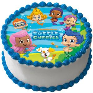 Bubble Guppies Tårtbild B