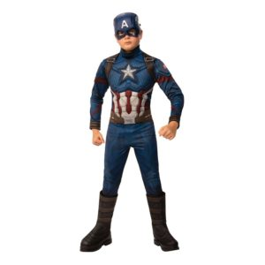 Captain America Barn Maskeraddräkt - Medium