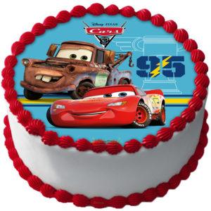 Cars Tårtbild D