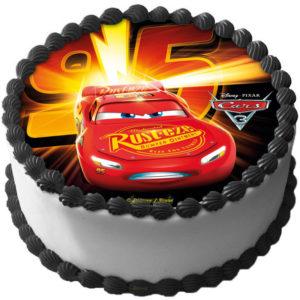 Cars Tårtbild Sockerpasta A
