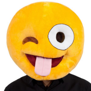Crazy Head Smiley Mask