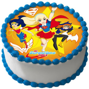 DC Super Hero Girls Tårtbild B