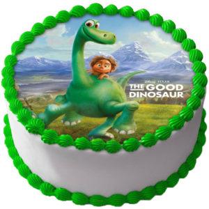 Den Gode Dinosaurien Tårtbild A