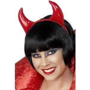 Djävulshorn röda PVC