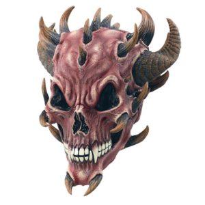 Djävulsmask med Horn