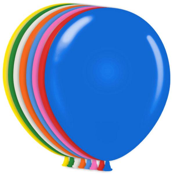 Färgglada Ballonger Metallic