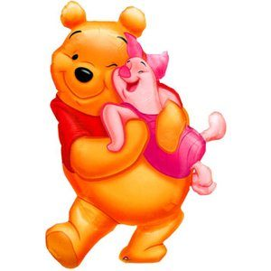 Folieballong - Nalle Puh Big Hug Shape
