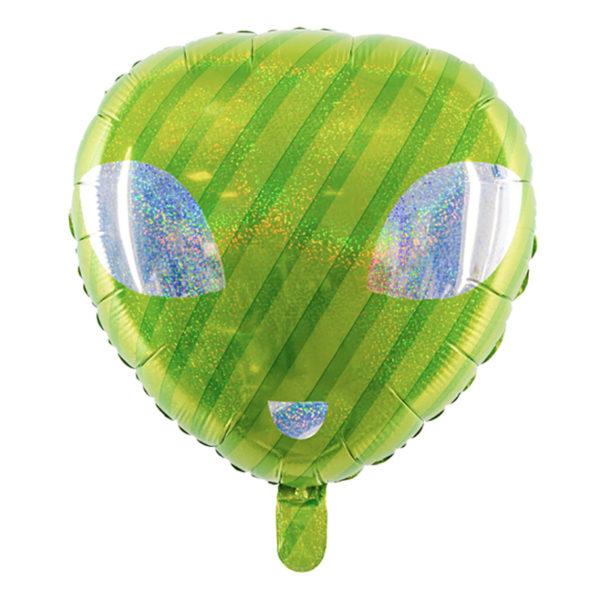 Folieballong UFO Grön
