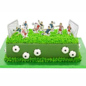 Fotboll Tårtdekorations Kit