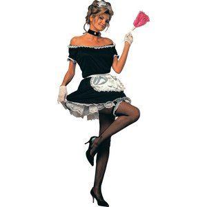 French Maid maskeraddräkt