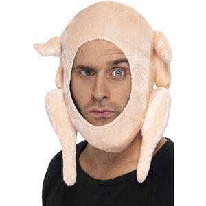 Fylld kalkon maskerad hatt